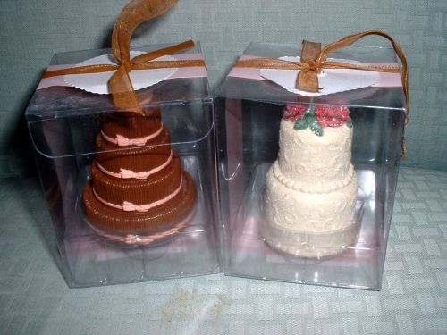 NEW Wedding Cake Ornaments or Toppers!