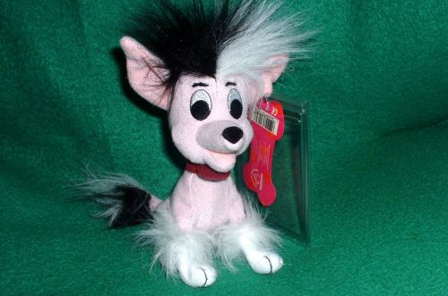 Disney 102 Dalmatians Chinese Crested dog MINT!