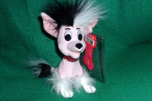 Disney 102 Dalmatians Chinese Crested dog MINT!