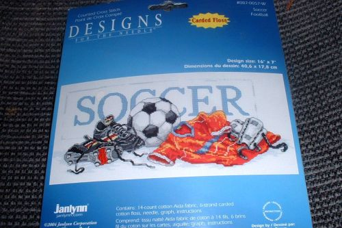 New Soccer Cross Stitch Kit!